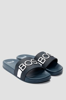 Boss Kidswear Boys Navy Sandals