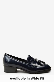 Square Toe Cleat Loafers