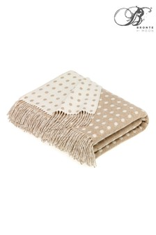 Multi Spot Merino Lambswool Throw