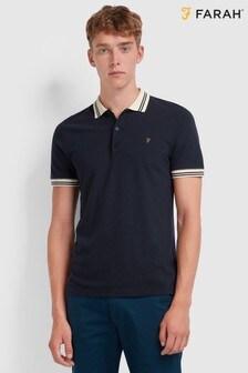 Farah Blue Stanton Poloshirt