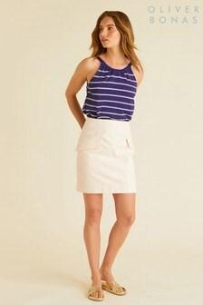 Oliver Bonas Utility Mini Skirt