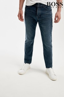 BOSS Blue Taber Tapered Fit Jeans