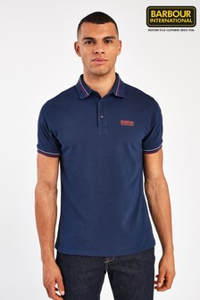 Barbour® International Switch Tipped Poloshirt