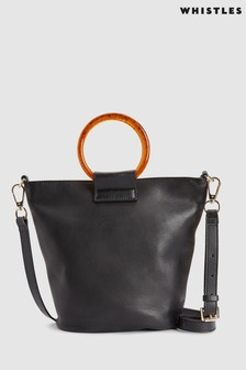 Whistles Henrietta Resin Handle Bag