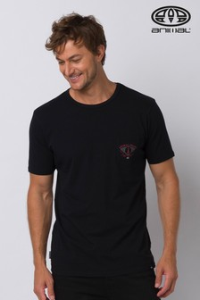 Animal Black Craftsman Deluxe Graphic T-Shirt