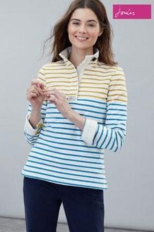 Joules Cream Saunton Classic Sweatshirt