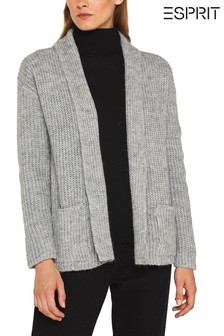 Esprit Grey Pocket Cardigan