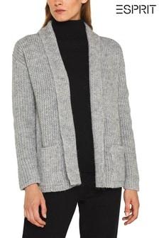 Esprit Grey Pocket Cardigan