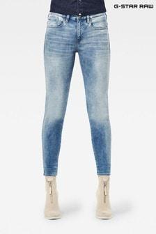 G-Star Lhana Skinny Fit Light Wash Blue Jeans