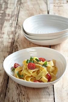 Set of 4 Portmeirion Sophie Conran Pasta Bowls