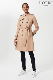 Hobbs Brown Saskia Trench Coat