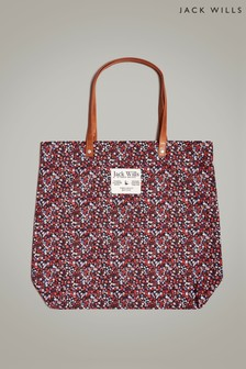 Jack Wills Multi Floral Eastleigh Tote Bag