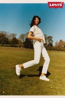 Levi's® White Squiggle Long Sleeve Shirt