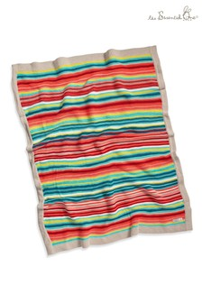 The Essential One Bright Stripes Knitted Blanket