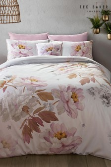 Ted Baker Butterscotch Bettbezug mit Blumenmuster