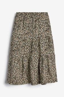Textured Jersey Skirt (3-16yrs)