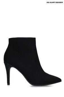 Kurt Geiger Black Fizzy Boots
