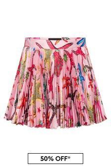 Versace Girls Pink Skirt
