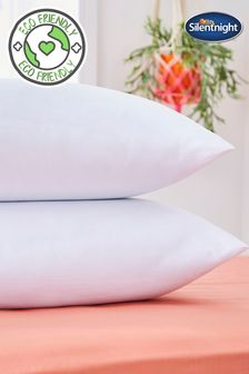 2 Pack Snug Snuggle Up Pillows by Silentnight