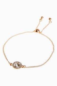 Sparkle Pully Bracelet With Swarovski® Crystals