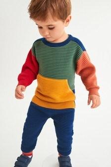 Colourblock Ripple Knit (3mths-7yrs)