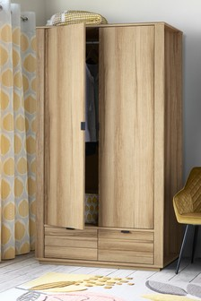 Barton Double Wardrobe