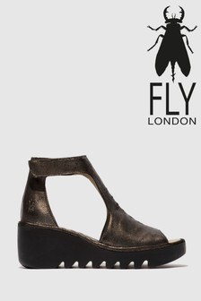 Fly London Ankle Strap Open Toe Sandals
