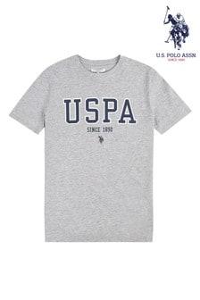 U.S. Polo Assn. Grey U.S. Polo T-Shirt