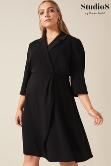 Studio 8 Black Penny Tuxedo Dress