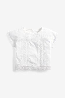 Lace Cropped T-Shirt (3-16yrs)