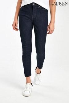 Lauren Ralph Lauren® Rinse Skinny Fit Ankle Jeans