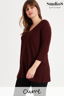Studio 8 Brown Lizzy Knit Jumper