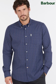 Barbour® Blue Batley Performance Shirt