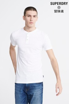 Superdry Heritage Grandad T-Shirt