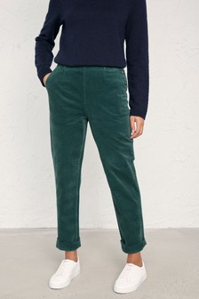 Seasalt Green Crackington Coast Land Trousers