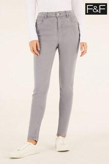 F&F Charcoal Grey Super Soft Jeans