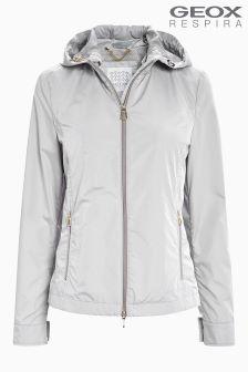 Geox Sleet Grey Blanc Jacket