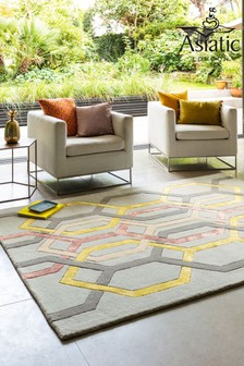 Matrix Hex Wool Rich Rug by Asiatic Rugs