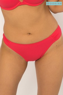DORINA Pink Jamaica High Leg Brazilian Bikini Bottoms