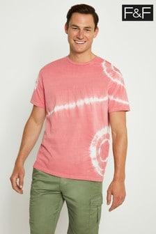 F&F Pink Tie Dye T-Shirt