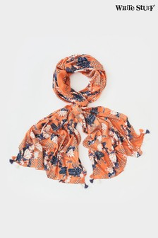 White Stuff Erin Eco Viscose Print Scarf