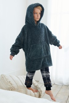 Soft Touch Fleece Poncho (3-16yrs)