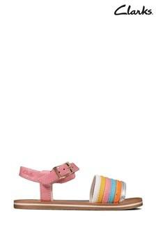 Clarks Multicolour Lea Finch Stride T Sandals
