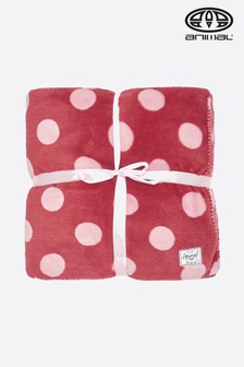 Animal Mineral Red Bondi Blanket