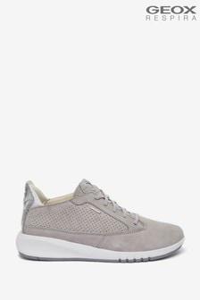 Geox Women's Aerantis Light Grey Shoes