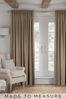 Made To Measure Mink Cotton Curtains