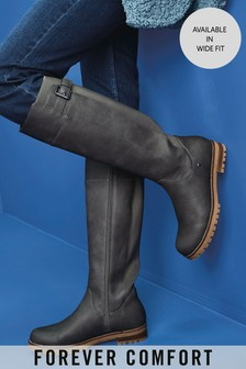 Forever Comfort® Chunky Knee High Boots