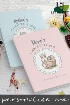 Personalised Christening Story Book by Letterfest