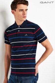 GANT Breton Stripe Poloshirt