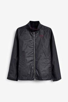 Barbour® Navy Ender Wax Jacket